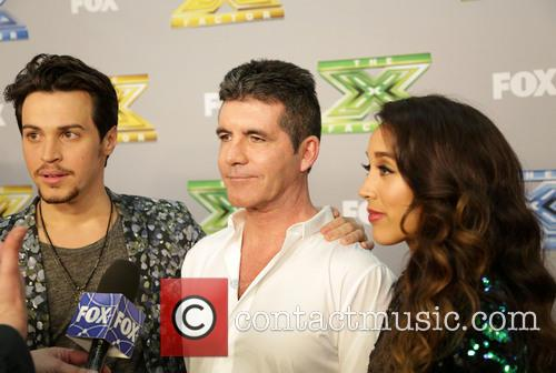 Alex Kinsey, Simon Cowell and Sierra Deaton 2