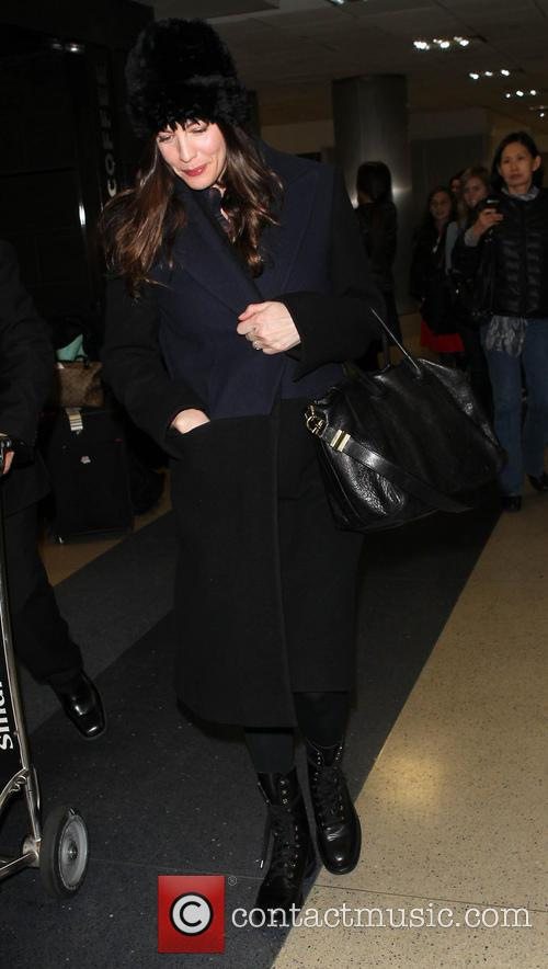 Celebrities arrive at LAX (Los Angeles International) airport