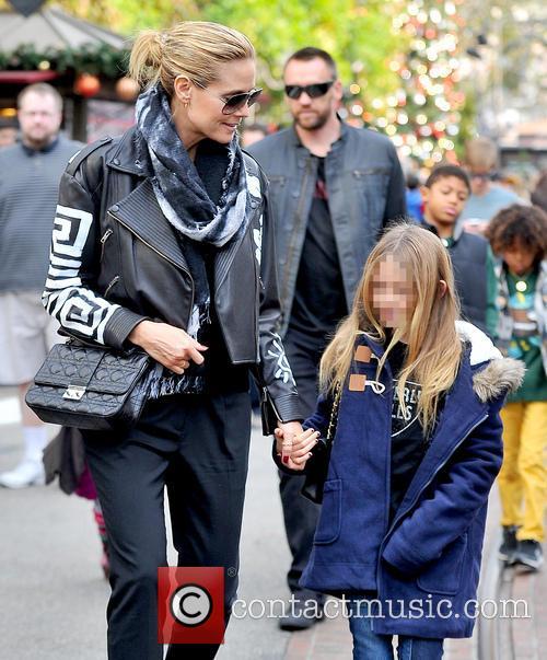 Heidi Klum and Leni Samuel 2