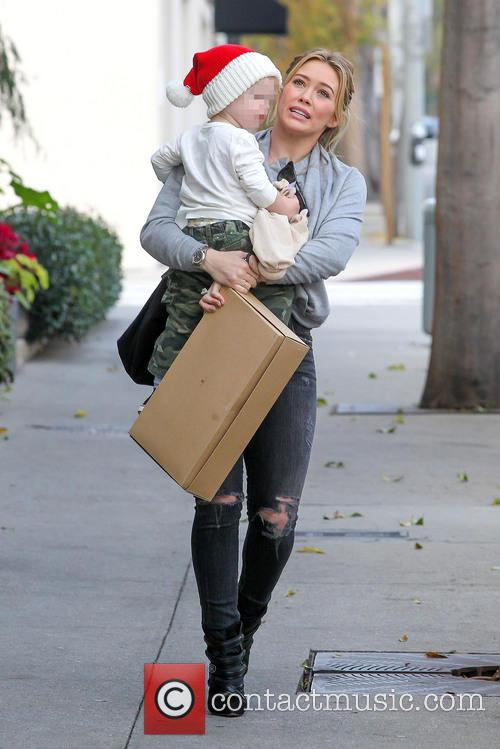 Hillary Duff and Luca Comrie 7