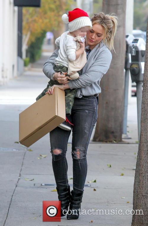 Hillary Duff and Luca Comrie 8