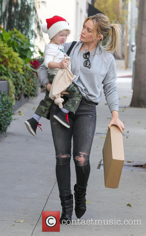 Hillary Duff and Luca Comrie 11