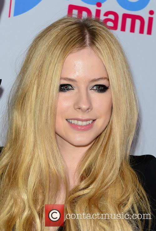 Avril Lavigne At The Jingle Bell Ball