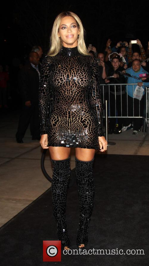 Beyonce attending a screening celebrating the release of her self-titled visual album