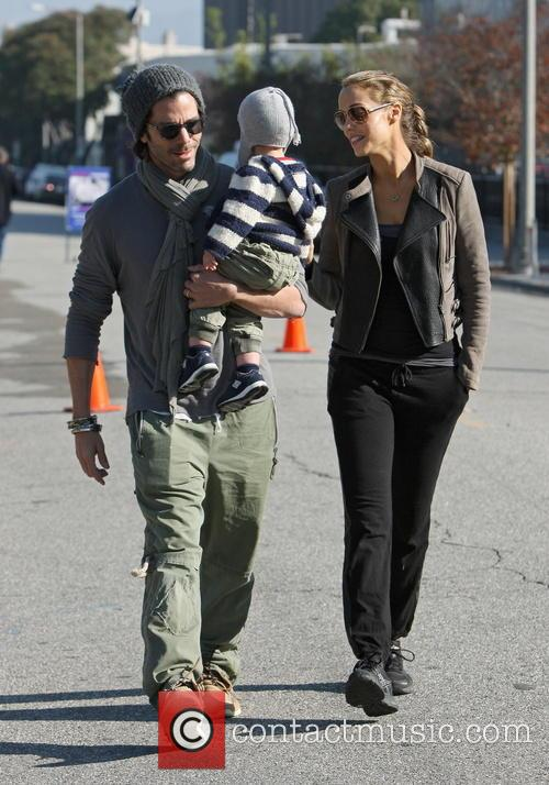 Elizabeth Berkley, Greg Lauren and Sky Lauren 9
