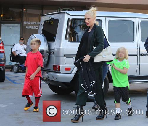 Gwen Stefani, Kingston Rossdale and Zuma Rossdale 3