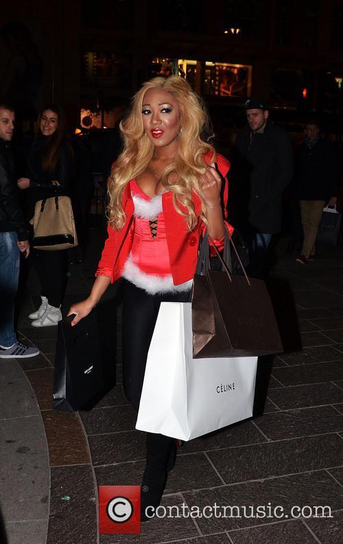 Gina Rio Shopping At Zara