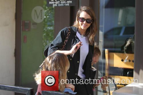Jessica Alba and Honor Warren 5