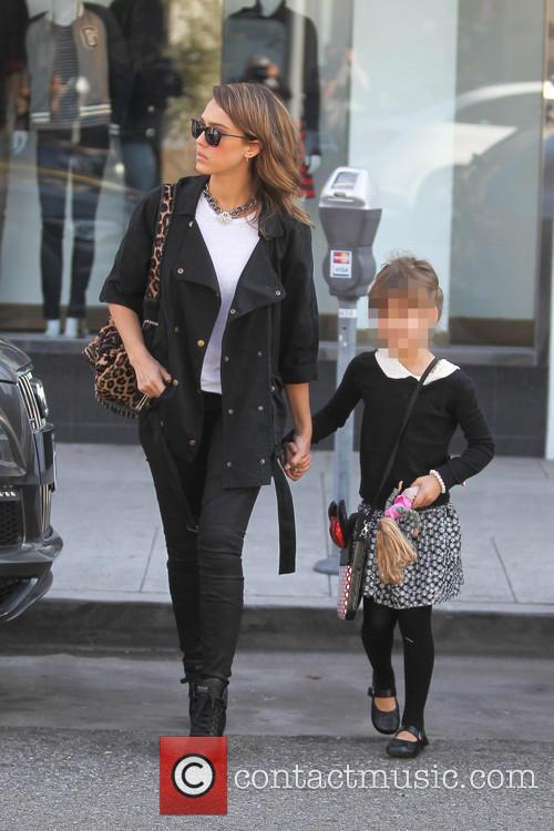 Jessica Alba and Honor Warren 8