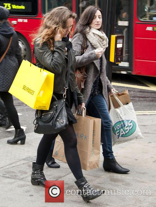 Charlie Brooks Christmas shops in London