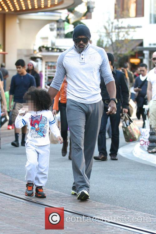 Cuttino Mobley Shopping At The Grove