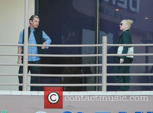 Gwen Stefani and Family do Lunch