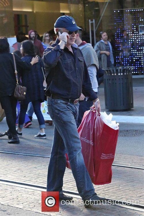 Neil McDonald shops  at American Girl atThe...