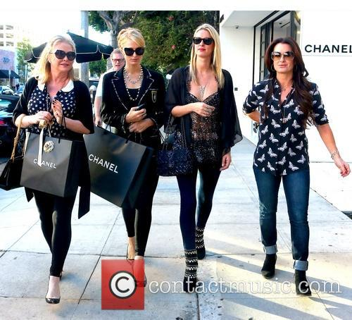 Kathy Hilton, Paris Hilton, Nicky Hilton and Kyle Richards