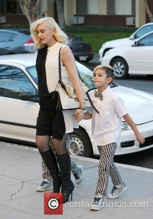 Gwen Stefani, Kingston Rossdale and Zuma Rossdale 2