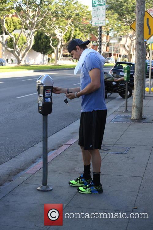 Josh Duhamel  seen leaving the gym