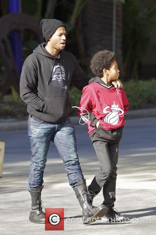 Marlon Wayans and Shawn Howell Wayans 3