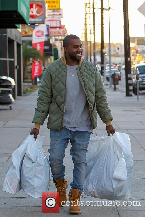Kim Kardashian And Kanye West Shopping
