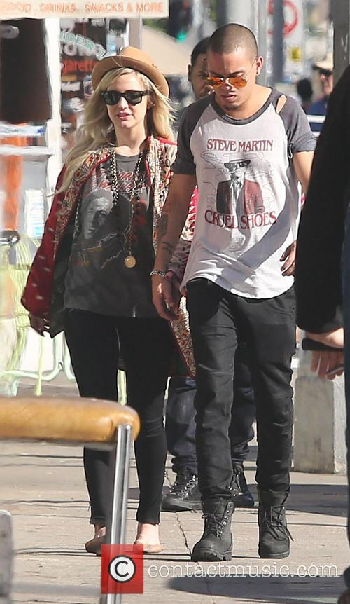 Ashlee Simpson, Evan Ross, West Hollywood