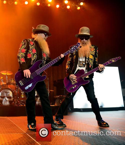 Dusty Hill and Billy Gibbons Of Zz Top 2
