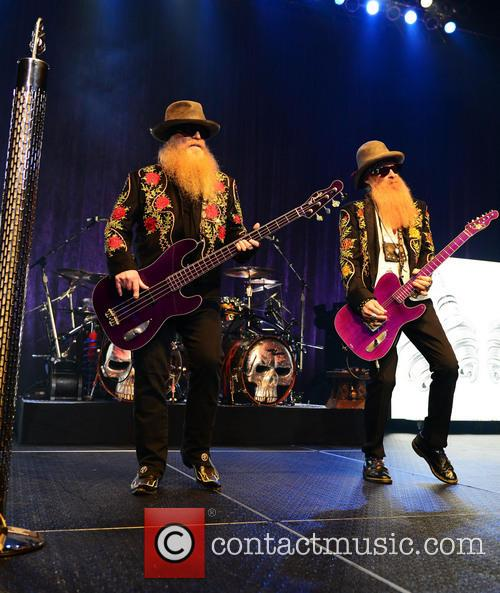Dusty Hill and Billy Gibbons of ZZ Top 5