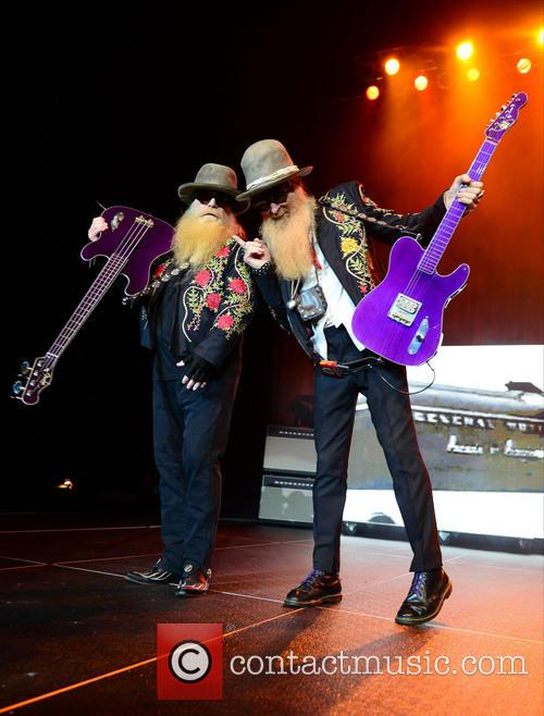 Dusty Hill and Billy Gibbons of ZZ Top 6