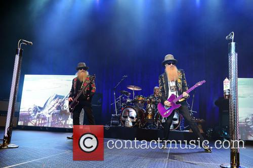 Dusty Hill and Billy Gibbons of ZZ Top 7