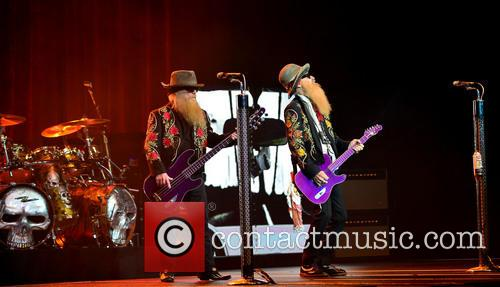 Dusty Hill and Billy Gibbons of ZZ Top 9