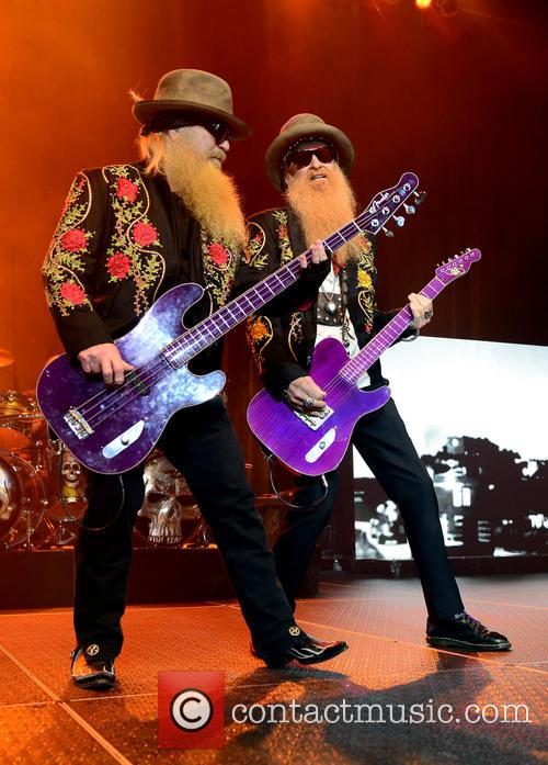 Dusty Hill and Billy Gibbons of ZZ Top 10