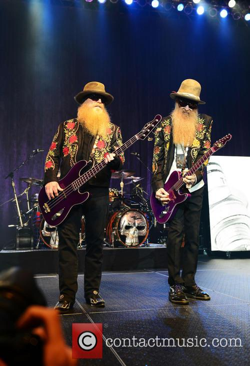 Dusty Hill and Billy Gibbons of ZZ Top 11
