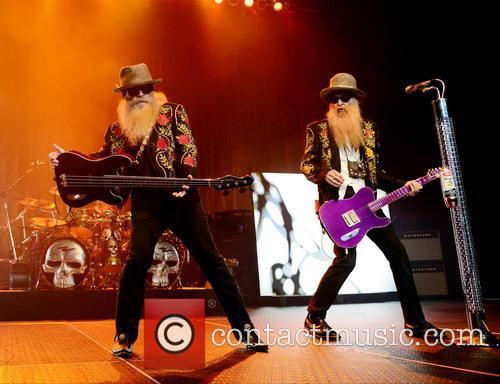 Dusty Hill and Billy Gibbons of ZZ Top 12