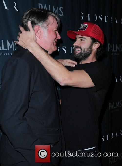 Brody Jenner attends an event at Ghostbar