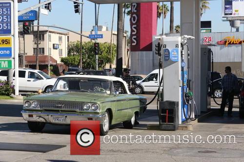 Benji Madden Pumping Gas