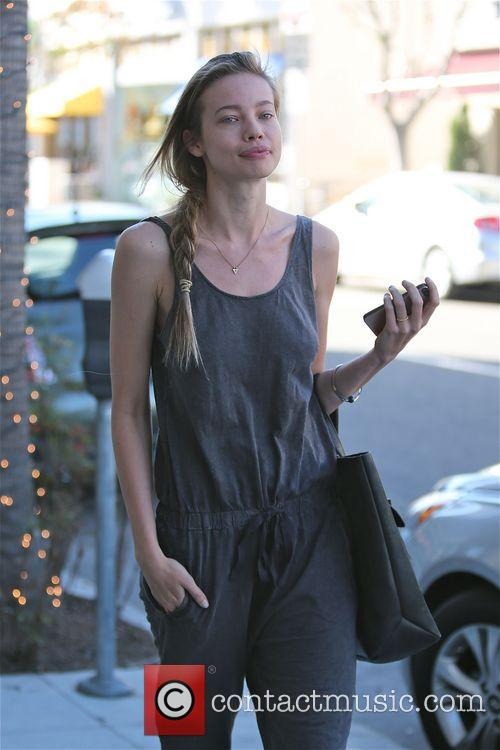 Stephanie Corneliussen out and about