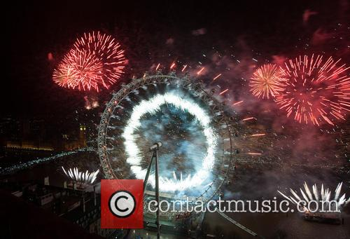 London New Year's Fireworks