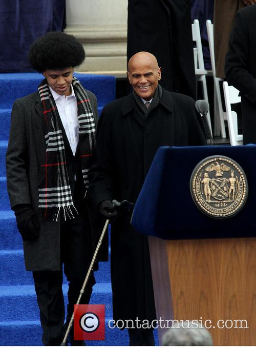 Dante De Blasio and Harry Belafonte 5