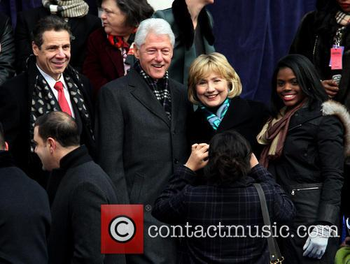 Ny Governor Cuomo, Bill Clinton and Hillary Clinton 6