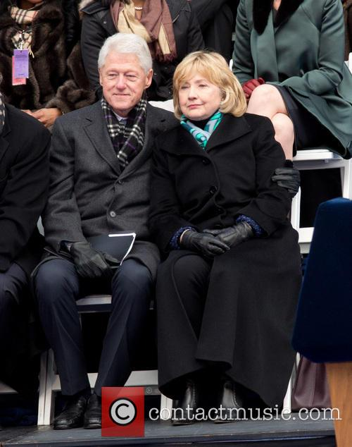 Bill Clinton and Hillary Clinton 8