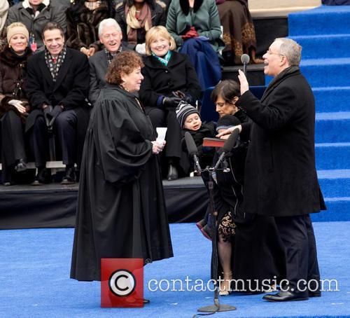 Inaguration ceremony of Bill De Blasio