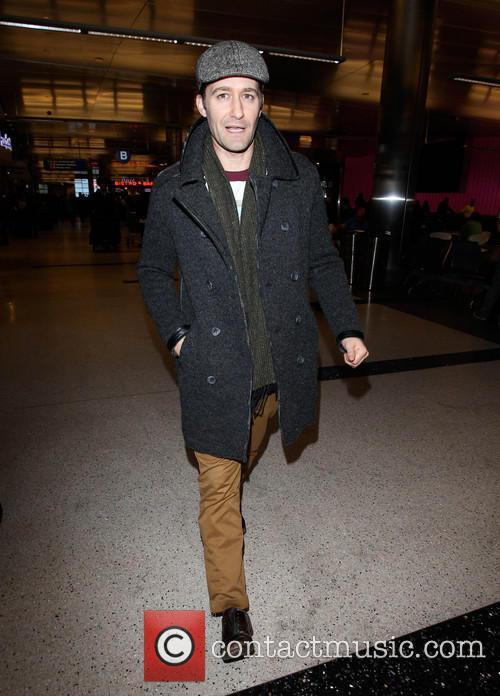 Matthew Morrison At LAX