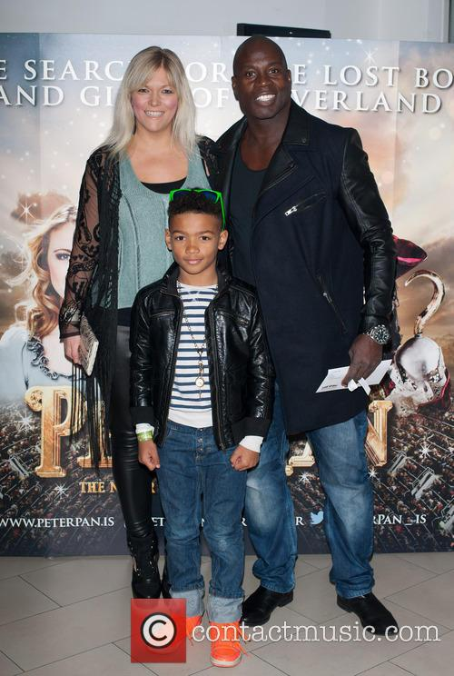 Peter Pan, Martin Offiah and Virginia Shaw 1