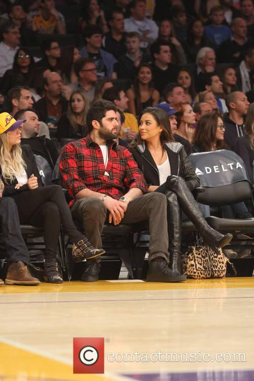 shay mitchell celebs at the lakers game 4010870