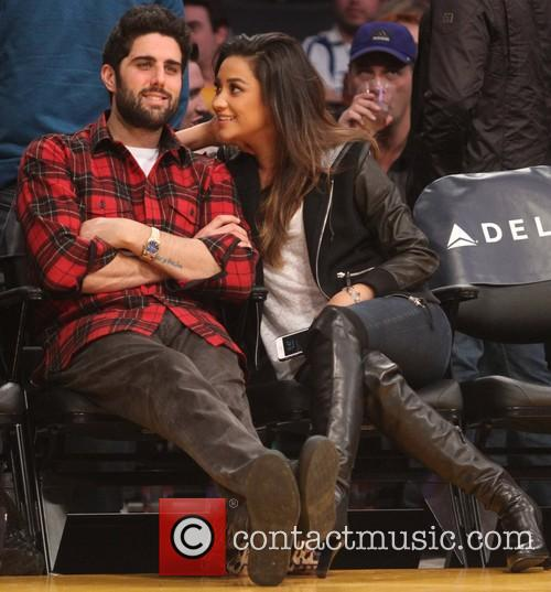 shay mitchell celebs at the lakers game 4010882