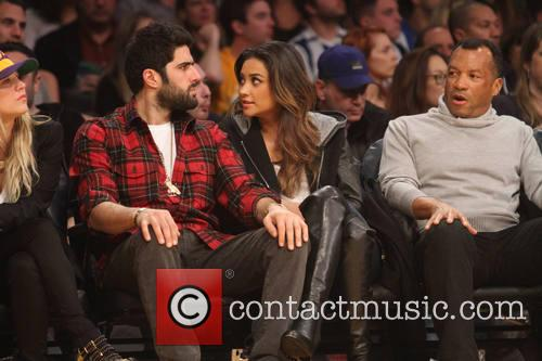 shay mitchell celebs at the lakers game 4010886