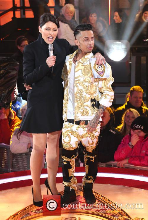 Emma Willis and Dappy 5