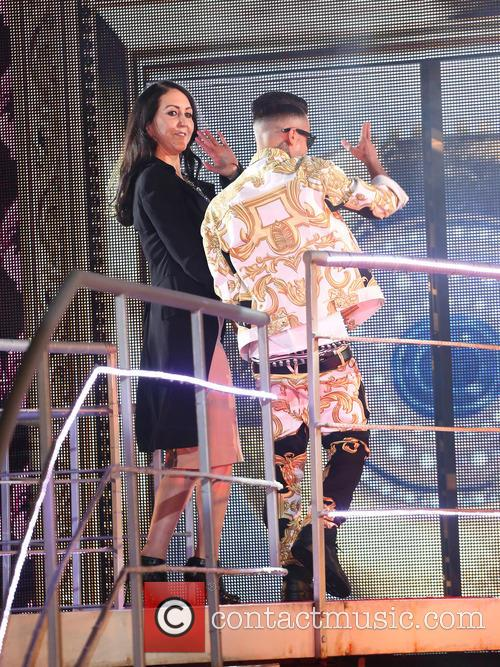 Liz Jones and Dappy 5
