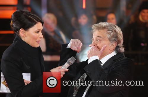 Lionel Blair and Emma Willis 2