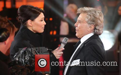 Lionel Blair and Emma Willis 3