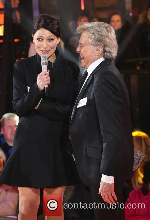 Lionel Blair and Emma Willis 1