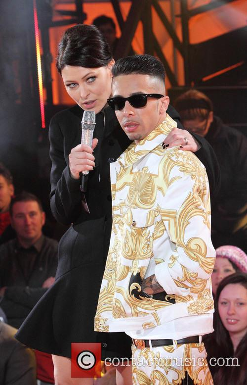 Emma Willis and Dappy 3